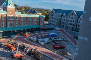 Photos: Upper Quad Update