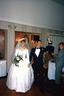 Darlene and Christopher Almont married in September 1995.