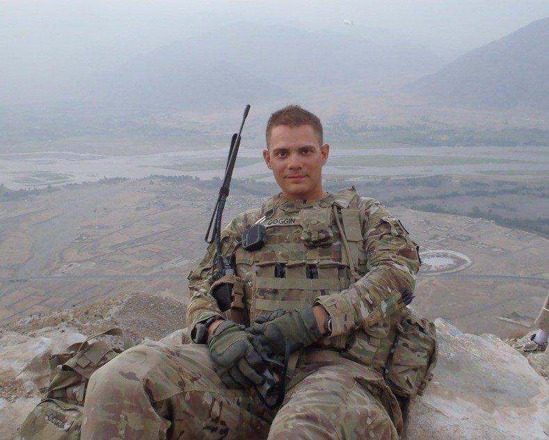 1st Lt. Randy Coggin, U.S. Army, Virginia Tech Corps of Cadets Class of 2009