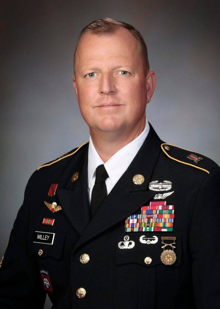 Command Sergeant Major Daniel Willey | Corps of Cadets | Virginia Tech