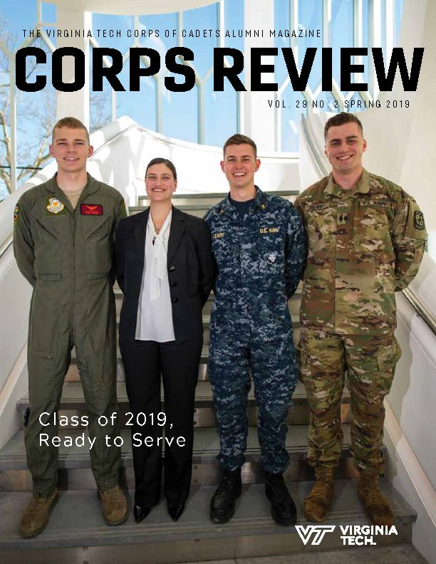 Cover of the Spring 2019 Corps Review